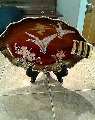 Carlton Ware Rouge Royale Candy Dish