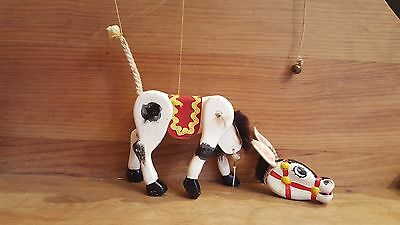 Original wooden Pelham MUFFIN THE MULE with bell