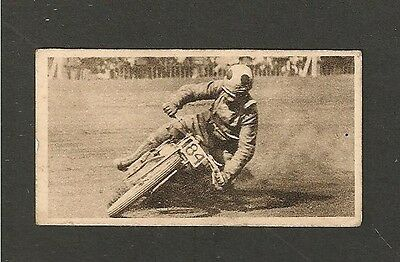 JACK BARRETT comming to grief CRYSTAL PALACE Speedway Star 1930 original card