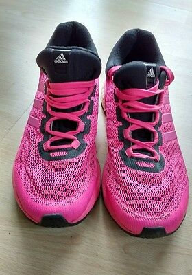 Adidas ladies pink boost trainers, size 7