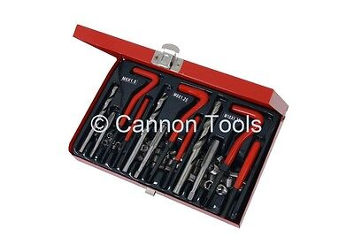 88 Piece Thread Repair Kit, Helicoil Set For Sizes M6, M8 & M10