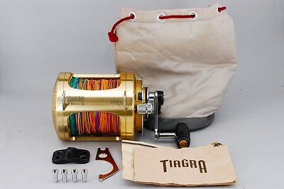 Excellent! Shimano TIAGRA 80W L.R.S. Big Game Reel  from Japan