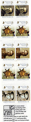 Australian Legends Booklet With Mint Stamps