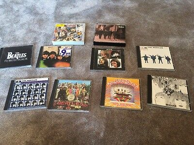 Collection Of 10 Beatles CD's
