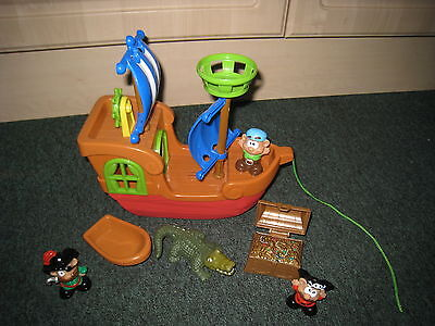 Jake And The Neverland Pirates Sound And Lights Ship And Figures