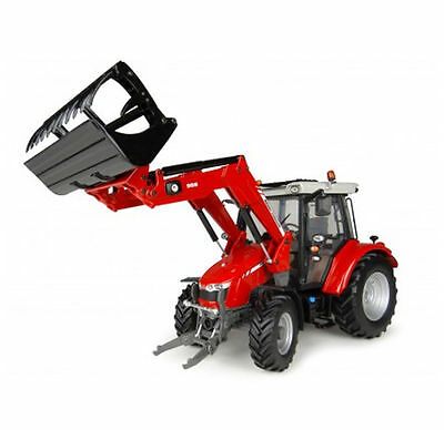 Universal Hobbies - Uh4903 Massey Ferguson 5713 Sl Loader Tractor 1:32 Scale