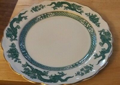 RARE VINTAGE BOOTHS GREEN DRAGON, SIDE PLATE 1906-1930s