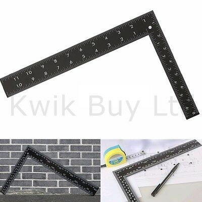 "8"" X 12"" Heavy Duty Metal Roofing Square Framing Carpenter Measure Metric"