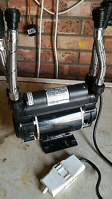 Stuart Turner 46502 Showermate Eco s 1.5 Bar Twin Positive Head Shower Pump