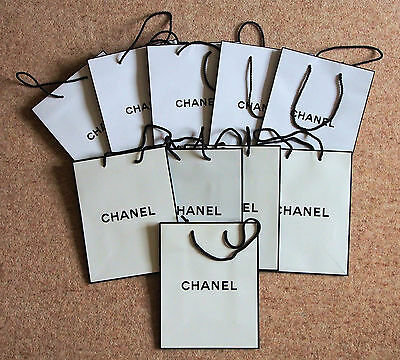 Chanel White Gift Bags