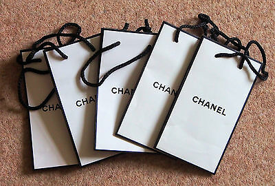 Chanel Paper Gift Bags