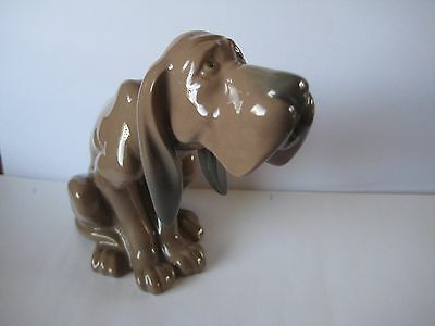 "Lladro.  "" Timid Dog, Retired. Perfect Condition. Rare."