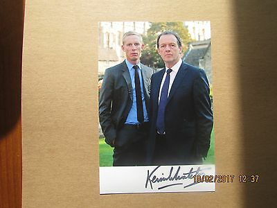 Kevin  Whately, Hand  Signed,  6X4 Photo, ( Inspector  Morse, / Lewis.)