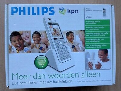 Philips kpn VP6500 Wifi Voip SIP Video Telefon