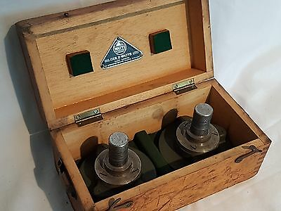 Hilger & Watts Surveyors Equipment In Wood Box  From Taff Merthyr Colliery