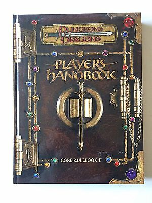 Dungeons And Dragons Players Handbook Core Rule Book 1 With Dvd