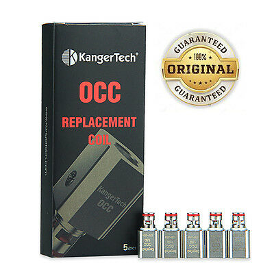 100% Genuine Kangertech OCC Replacement Coils 0.5 Ohm & 1.2 Ohm ✤3 Coils £6.49✤
