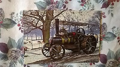 A postcard of Fowler type K.7 12 h.p.Ploughing Engine,Wollaton Park,Nottingham,E
