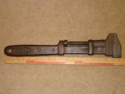 Antique W & B Railroad Special 18 Inch Wrench