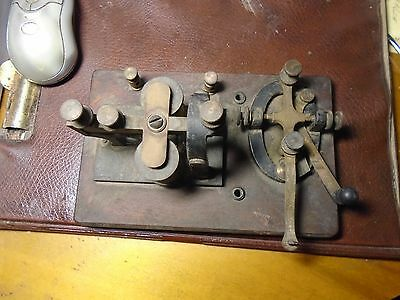 Telegraph  KEY and SOUNDER ANTIQUE