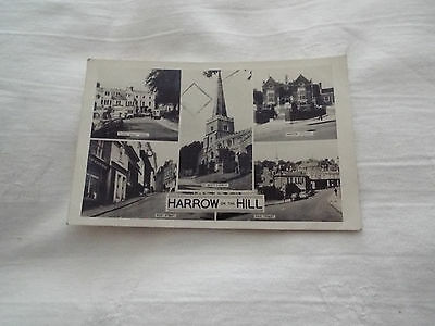 R.p. Postcard Of Harrow-On-The-Hill, Middlesex Posted 1963