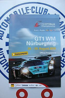 FIA GT1 World Championship programme 2010 - Nurburgring