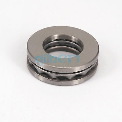 51217 85x125x31mm Axial Ball Thrust Bearing Set(2 Steel Races + 1 Cage)ABEC-1