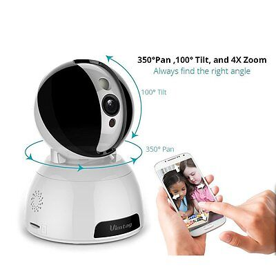 Vimtag® [Snowman CP1] ProHD Wifi Wireless Smart IP Home Security Camera,Modern D