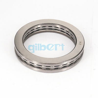51124 120x155x25mm Axial Ball Thrust Bearing Set(2 Steel Races + 1 Cage)ABEC-1