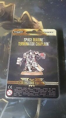 limited edition warhammer 40k collectors space marine terminator chaplain