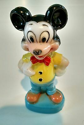 Plastic Toy Figure Mickey Mouse Vintage