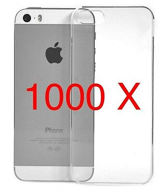 Wholesale 1000 X iPhone 5/s Clear Hard Plastic Cases Joblot CLEARANCE Bargain