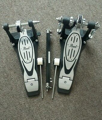 Pearl 900 Power Shifter double bass pedal with case