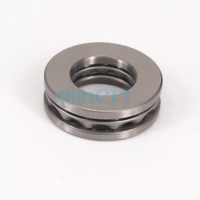 51222 110x160x38mm Axial Ball Thrust Bearing Set(2 Steel Races + 1 Cage)ABEC-1