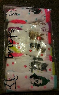Girls next 7 pack knickers/briefs age 1 1/2 -2 years