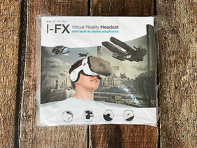 Hype I-Fx Virtual Reality Headset With Earphones New In Box