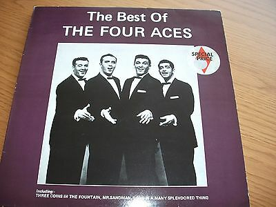 The Best Of The Four Aces / Vinyl Lp Record Ex- Vg+