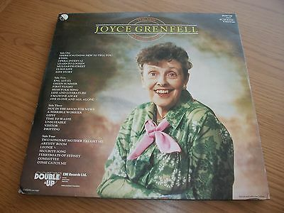Joyce Grenfell The New Collection / 2X Vinyl Lp Record Ex Vg+