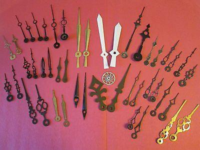 23 Pairs of Assorted Antique & Vintage Clock Hands
