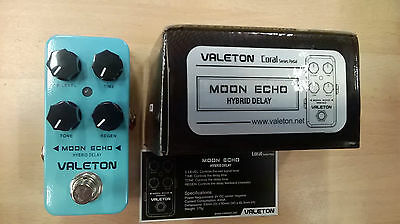 "Valeton Coral Series ""Moon Echo"" hybrid delay electric guitar effects pedal"