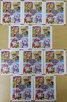 Paw Patrol ~ A Year Of Adventures ~ Panini Sticker Collection 10 x Sealed Packs