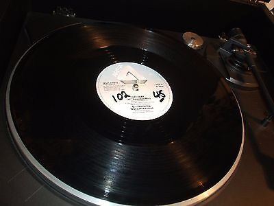 """12"""" VINYL RECORD/ Q-featuring TRACY ACKERMAN - GET HERE EX-"""