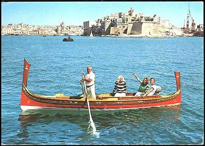 Jutting Into The Grand Harbour Of Senles -   Malta