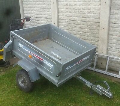 Erde car trailer Excellent condition