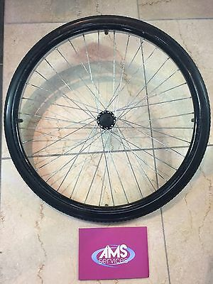 Lomax Self Propelled / Propelling Wheelchair Rear Wheel Including Push Rim