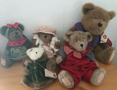 Gorgeous large Bundle Collection BOYDS TEDDY BEARS