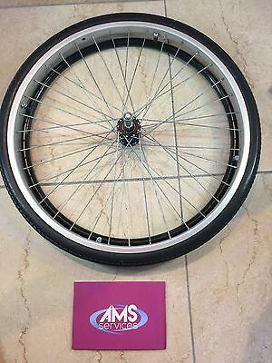 Lomax Self Propelled / Propelling Wheelchair Rear Wheel Including Push Rim (A1)