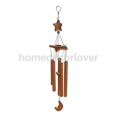 62cm Hanging Star Windmill Wind Chime Tube Decorative Outdoor Home Mobile