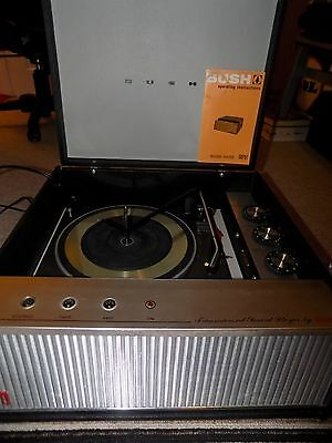 Bush Record Player Model SRP 51 with Gerard Deck Model 3500