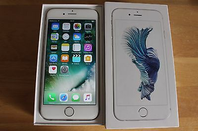 Apple  iPhone 6s - 16GB - Silber Silver (Ohne Simlock) Smartphone UNLOCKED